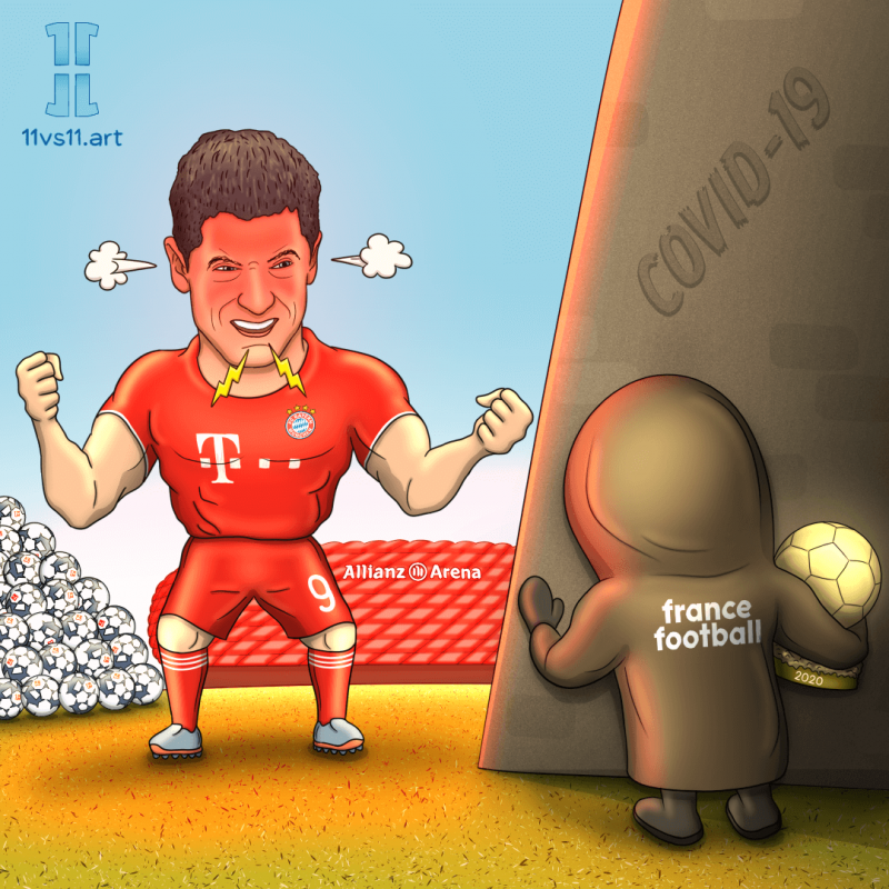 Lewandowski and Ballon d'Or 2020